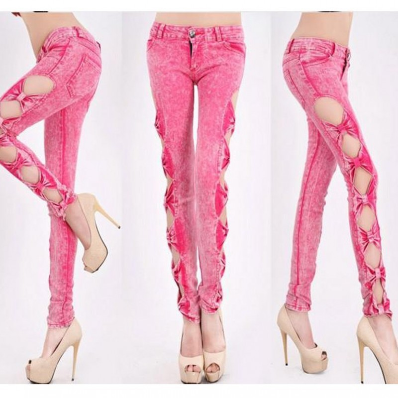 Sexy Jeans Trousers Jeggings WLSJ - 003